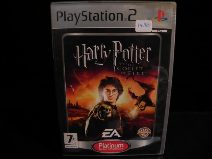 Harry Potter and the Goblet of fire kaytetty PS2
