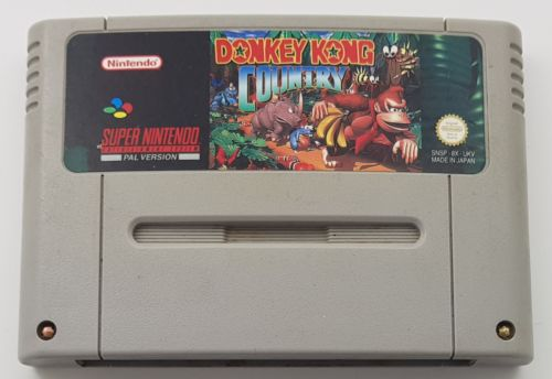 Donkey Kong Country SNES Loose