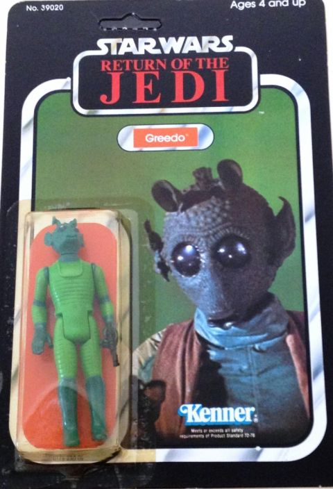 Star Wars Return of The Jedi Greedo (1983) Boxed