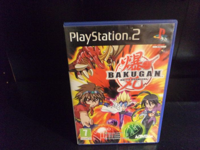 Bakugan Battle Brawlers kaytetty PS2